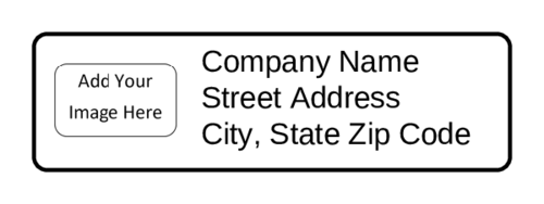 Return Address Label - Custom Image
