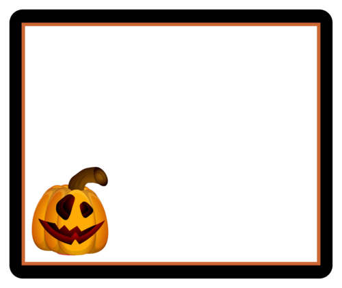 Jack O' Lantern Box Label