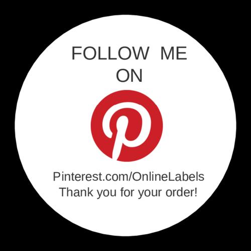 Follow Me on Pinterest Label