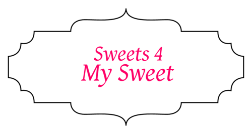 """Sweets For My Sweet"" Valentine's Day Party Favor Label"