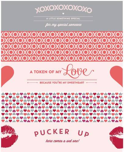 Valentine's Day Water Bottle Labels Printable