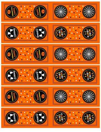 Halloween Tic Tac Party Favor Labels Printable