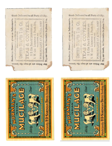 Vintage Apothecary-Style Label