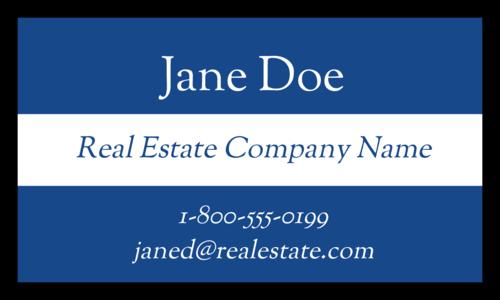 Real Estate Fridge Magnet Label