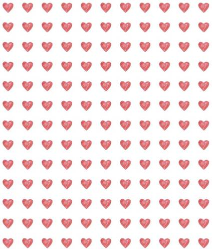 Wedding Favor Heart Label
