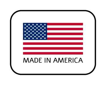 """Made in America"" Product Sticker"