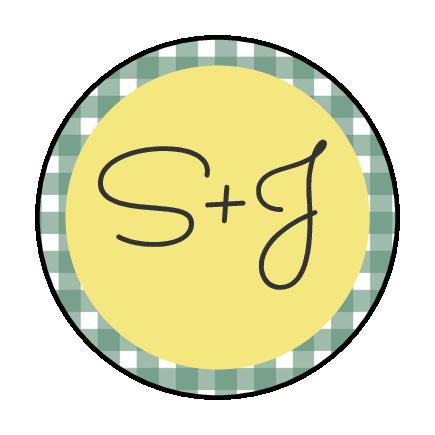 Picnic Style Monogram Envelope Seal