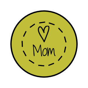 Mother's Day Chocolate Kisses Label