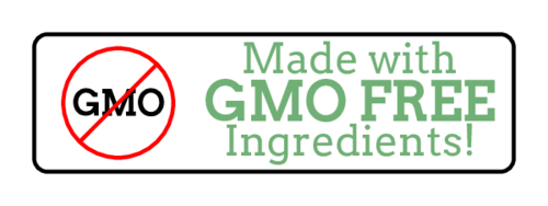 """Made With GMO-Free Ingredients"" Food Label"
