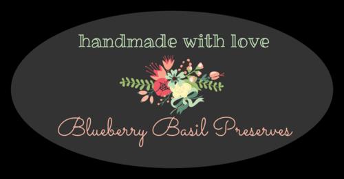 Floral Jar Label