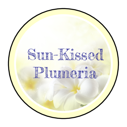 Plumeria Bath and Body Label