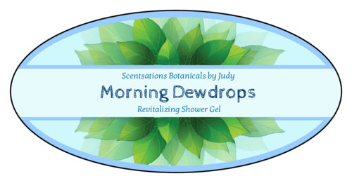 Leaves Bath And Body Label