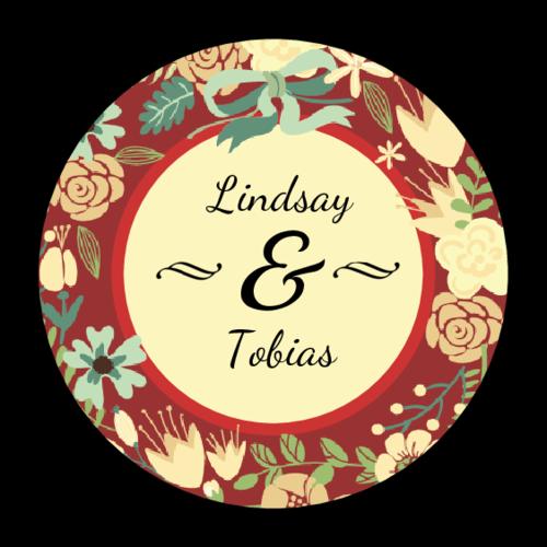 Florid Wedding Label