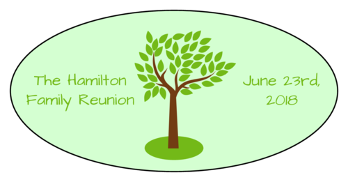 Family Reunion Label
