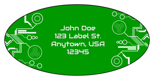 Tech Address Label