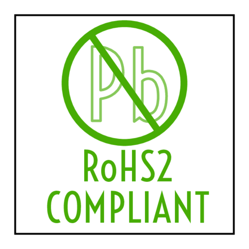 """RoHS2 Compliant"" Sticker"
