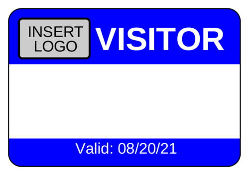 Visitor Name Tag