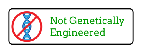 """Not Genetically Engineered"" Food Label"