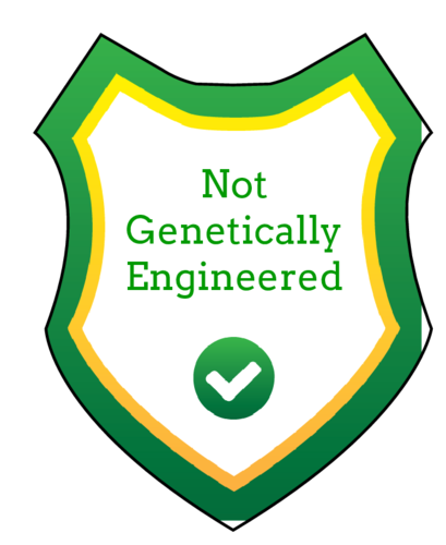 """Not Genetically Engineered"" Food Packaging Label Shield"