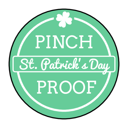 """Pinch Proof"" St. Patrick's Day Sticker"