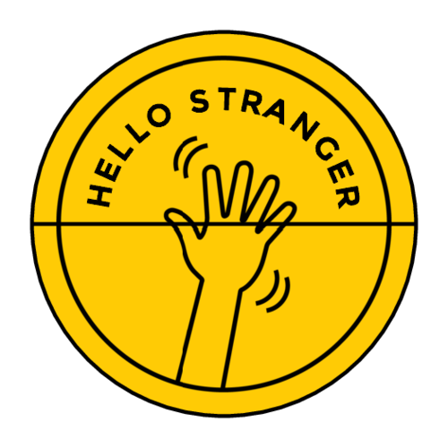 """Hello Stranger"" Envelope Seal"