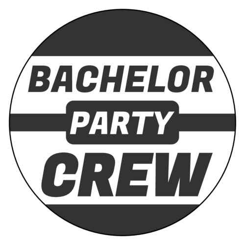 Bachelor Party Crew Label