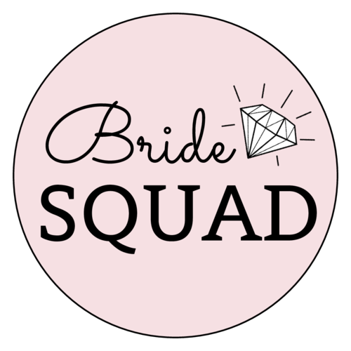Bride Squad Bachelorette Label
