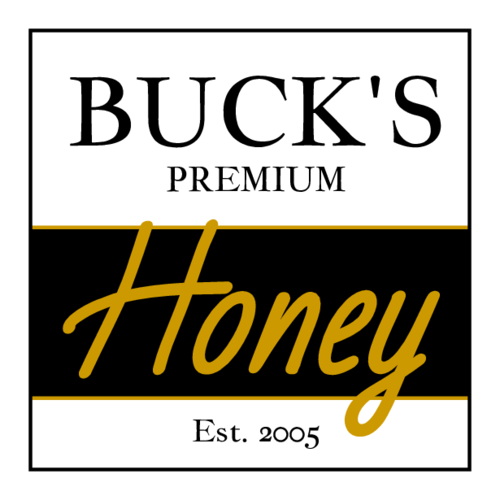 Two Tone Honey Jar Label