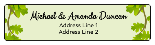 Enchanted Forest Address Label