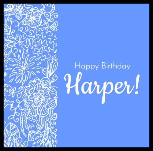 Birthday Candy Bar Wrapper Label