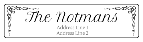 Celtic Vine Address Label