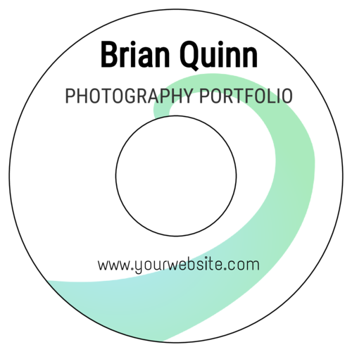 Wave Portfolio Disc Label