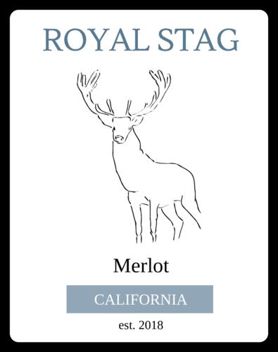 Royal Stag Wine Bottle Label