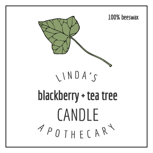 Woodland Candle Label