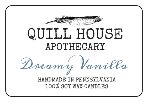 Holistic Candle Label