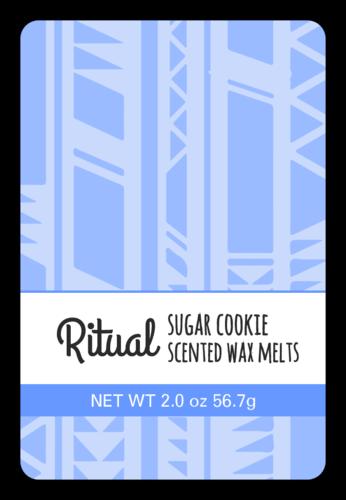 Tribal Wax Melt Label