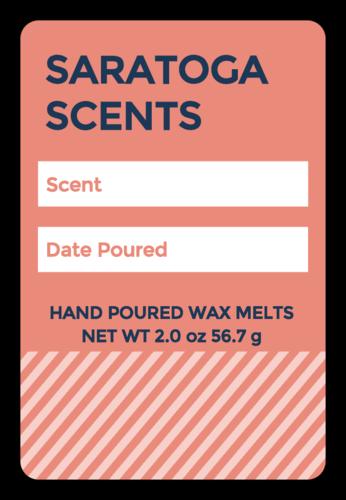 Write-In Wax Melt Label