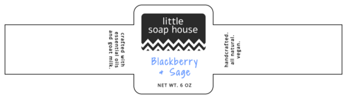 Chic Wrap-Around Soap Label