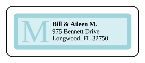 Chesapeake Address Label