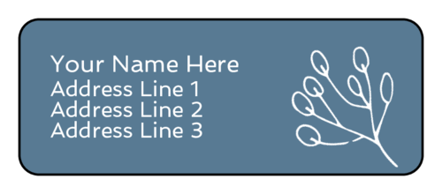 Cape Cod Address Label