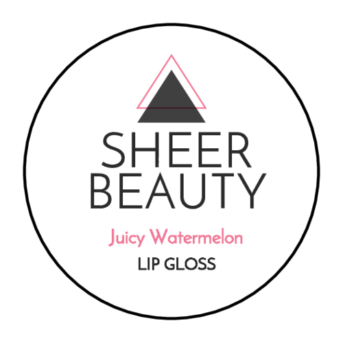 Modern Lip Gloss Label