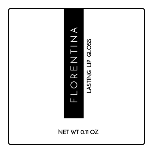 High-Fashion Lip Gloss Label