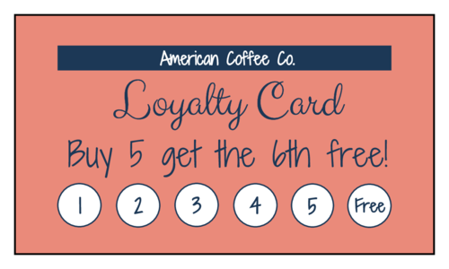 Simple Loyalty Card