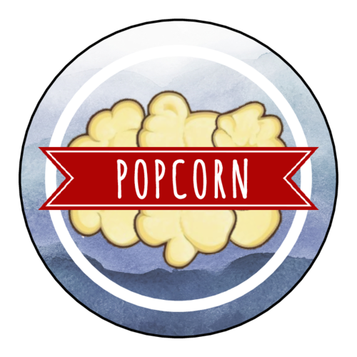 Patriotic Popcorn Label