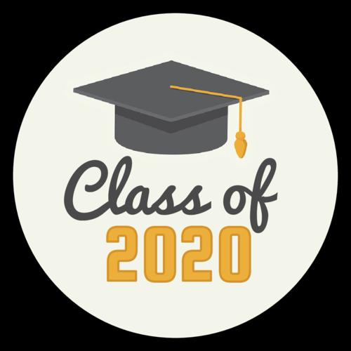 """Class of"" Graduation Label"
