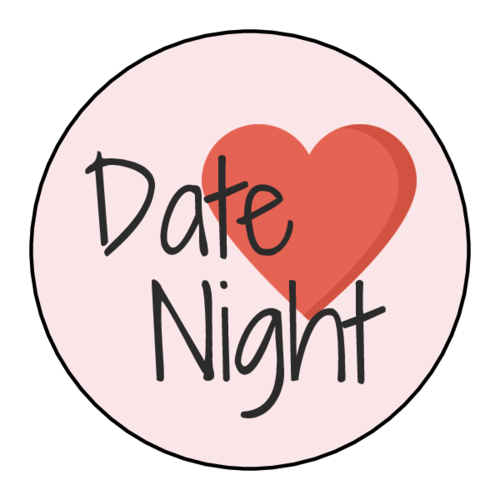 """Date Night"" Planner Sticker"