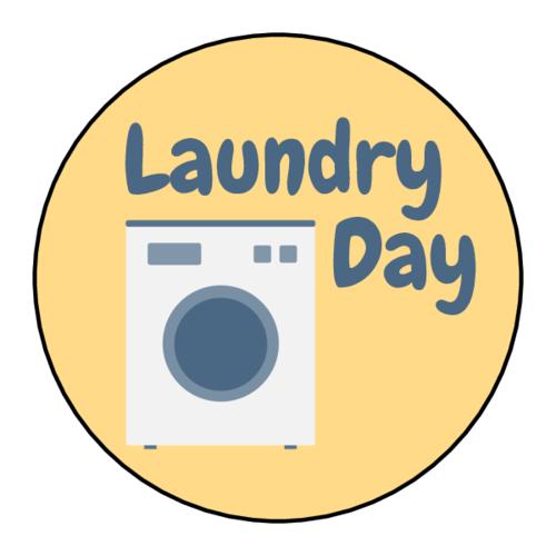 """Laundry Day"" Planner Sticker"