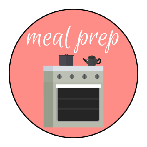 """Meal Prep"" Planner Sticker"