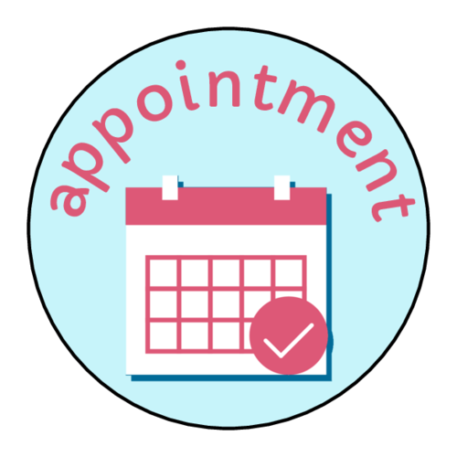 """Appointment"" Planner Sticker"