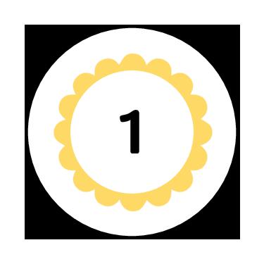 Numerical Classroom Organization Label